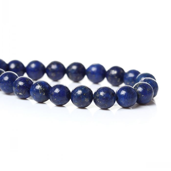 """(Grade D) Synthetic Lapis Gemstone Loose Beads Round Deep Blue About 6mm( 2/8"""") Dia,40.5cm(16"""") long,1 Strand(approx 66PCs)(China (Mainland))"""