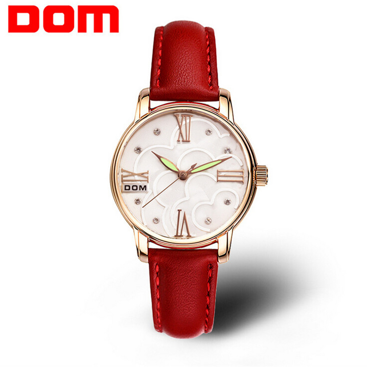 dom quartz women watches top brand luxury 2016 wristwatch. Black Bedroom Furniture Sets. Home Design Ideas