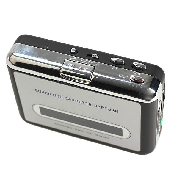 Tape to iPod/MP3 CD USB Cassette Capture Converter Audio Music Player E0Xc ES88(China (Mainland))