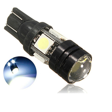 T10 2.5W 180LM 4 SMD 5050 LED Auto Car Light High Power Car LED Lamp DC 12V White Aluminum Case