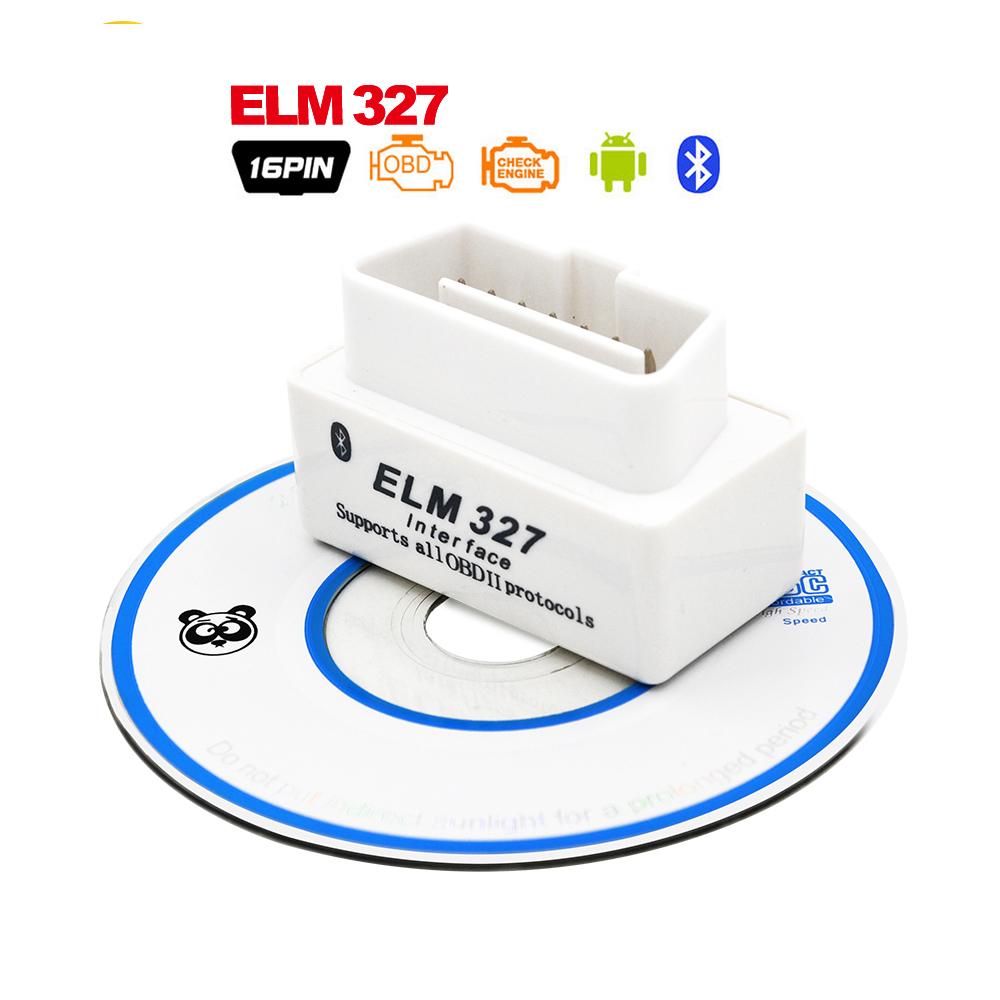 High Quality !!! 2016 Hot Auto Car ELM327 HH Bluetooth OBD 2 OBD II Diagnostic Scan Tool elm 327 Scanner free shipping(China (Mainland))