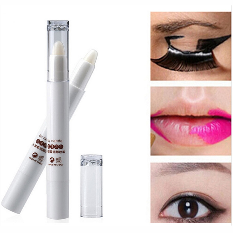 Hot Selling Makeup Remover Pen Professional Lip Eye Makeup Removal and Correction Beauty Removedor de maquiagem Free shipping