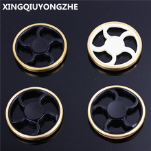 4 Style Wheel EDC Tri-Spinner Fidget Toys Hand Spinner Metal Fidget Spinner and ADHD Adults Hand Toys Gifts For Boy Girl(China (Mainland))