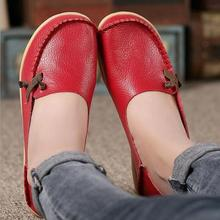 Buy PU Leather Women Flats ShoeS Fashion Casual Slip On Soft Loafers Spring Summer Moccasins MOM Female Driving Flat Shoes Wholesale for $21.55 in AliExpress store