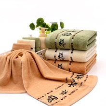 Soft Cozy Absorbent Bamboo Fiber Luxury Soild Hand Bath Beach Sheet Towels Y8 - EnjoyYourLife Store store