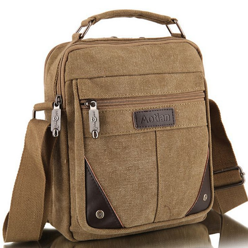2016 men s travel bags cool sport Canvas bag fashion men messenger bags high quality brand