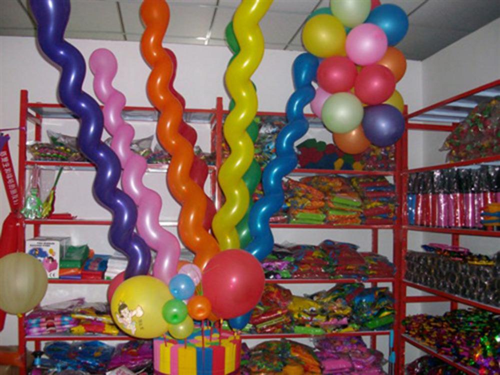 Multi Colors Twist Latex Balloon Screw Magic Balloon for Wedding Birthday Party Decoration Celebration Kids Gift 2X HM406(China (Mainland))