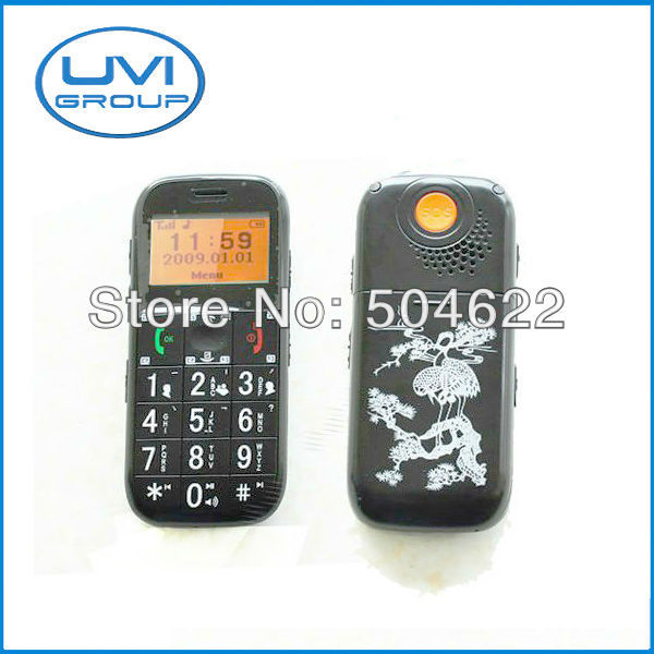 China Post Free Shipping! GSM Quad-band FM Radio GPS Mobile / Cell phone tracker with SOS Button for Elder Old People GPS-PT503