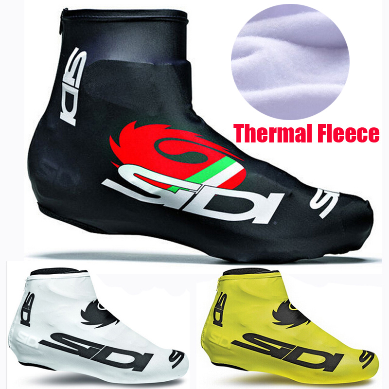 Winter Thermal SI-DI Brand Cycling Shoe Cover/Full Zip MTB Bike Shoe Cover/Pro Road Racing Bicycle Shoe Covers For Man/Women(China (Mainland))