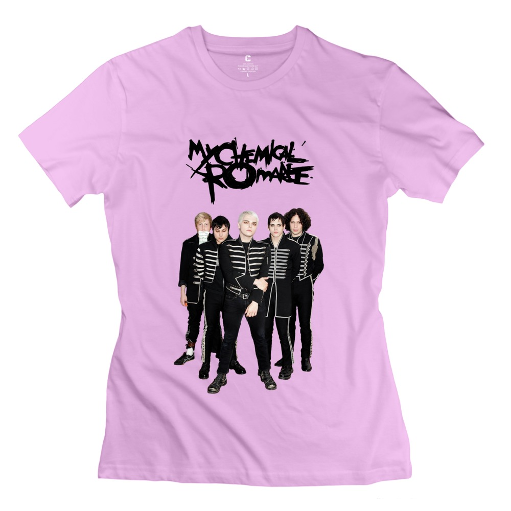 Brand my chemical romance render clothes punk o collar for Fishing t shirts brands