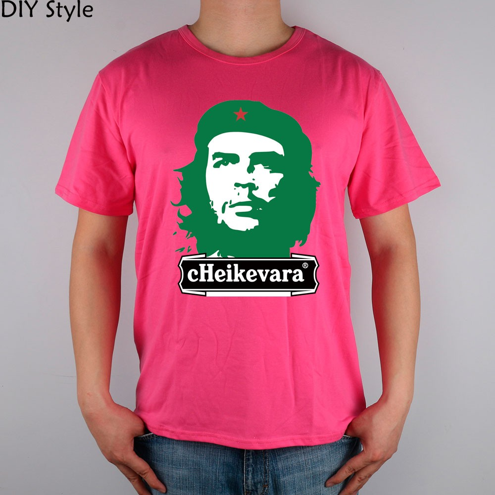 CHE Beer Guevara T-shirt cotton Lycra top 5783 Fashion Brand t shirt men new high quality  HTB1I4OVMpXXXXbYXFXXq6xXFXXXy