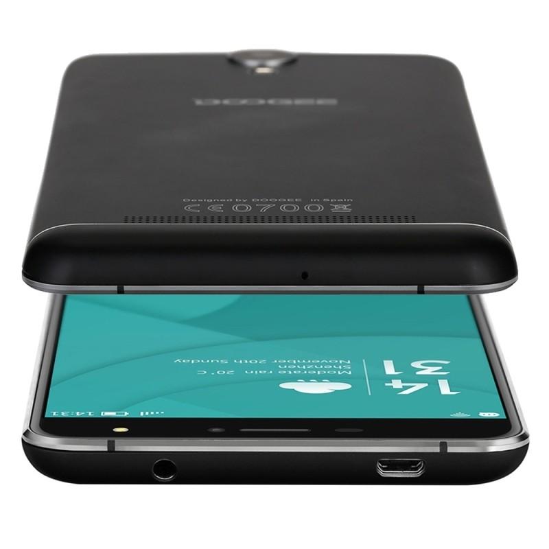 "Original DOOGEE X7 Pro 16GB/2GB Network 4G 6.0"" 2.5D Android 6.0 MTK6737 64-Bit Quad Core Dual SIM Cell Phones 1280 x 720 pixel"