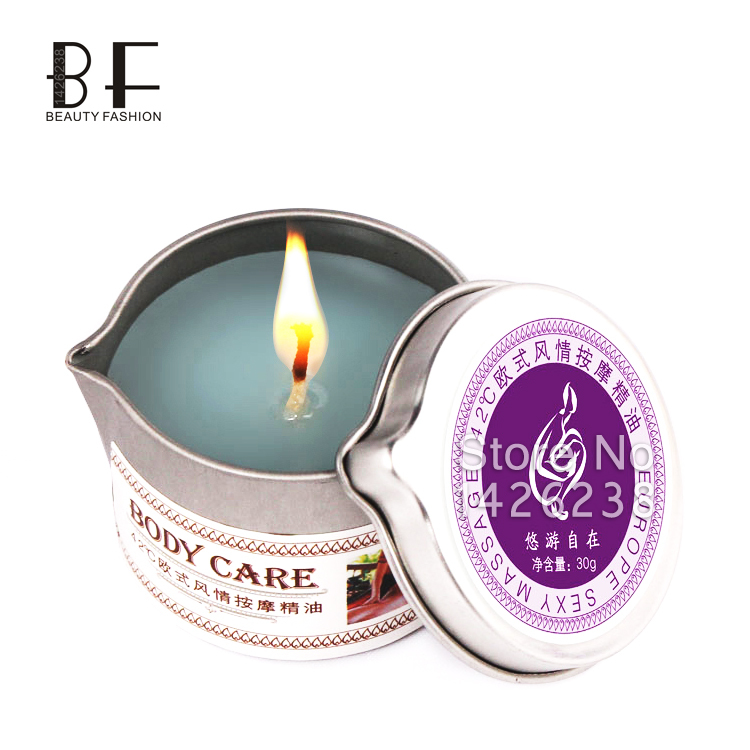 Genuine Erotic candle fragrance Sex massage essential oil aromatherapy candles solid balm Candle flirt aphrodisiac lotus candle(China (Mainland))