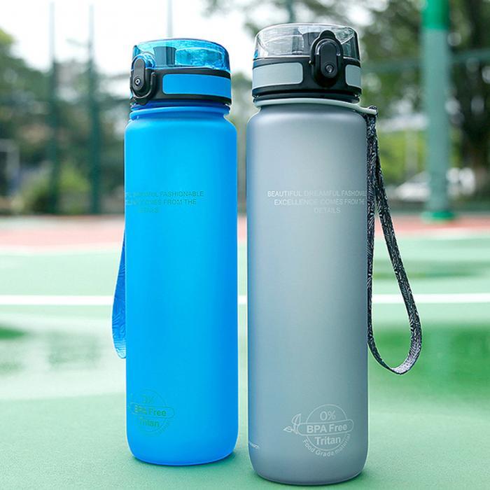 2019 портативная Спортивная бутылка для воды пластиковые анти осенние