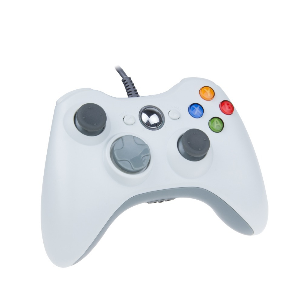 High quality Game Controller Xbox 360 wired controller With live headset interface Xbox360 Windows PC(China (Mainland))