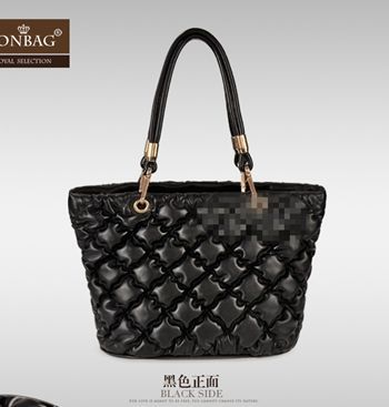 Europe and America Women Tote Bag Fashion Bubble Quilted Shoulder Bag Casual Ol Lady Bag Elegant Handbags New Messenger Bag(China (Mainland))