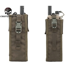 Buy Emerson 500D Nylon PRC-148/152 Radio Pouches Gear Tool Bag Camo Military Molle Interphone Walkie Talkie Case Pouch EM8350 FG ^ for $20.47 in AliExpress store