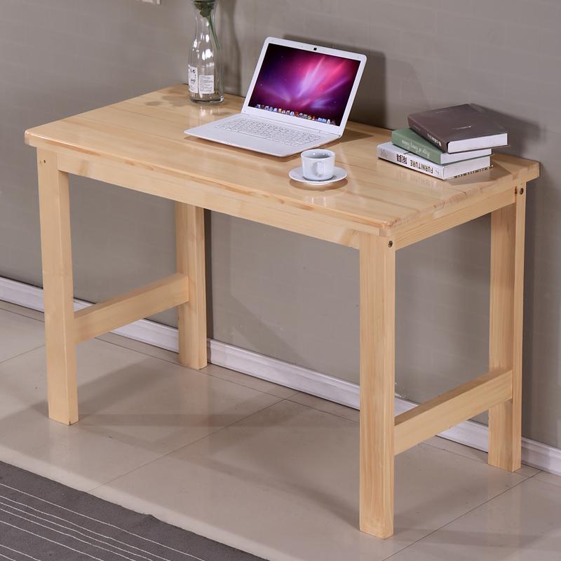 Compra escritorios de la computadora de pino macizo online - Escritorio de pino ...
