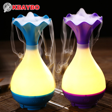 USB Air Humidifier Ultrasonic Aromatherapy Essential Oil Aroma Diffuser with LED Night Light Mist Purifier atomizer for Home(China (Mainland))