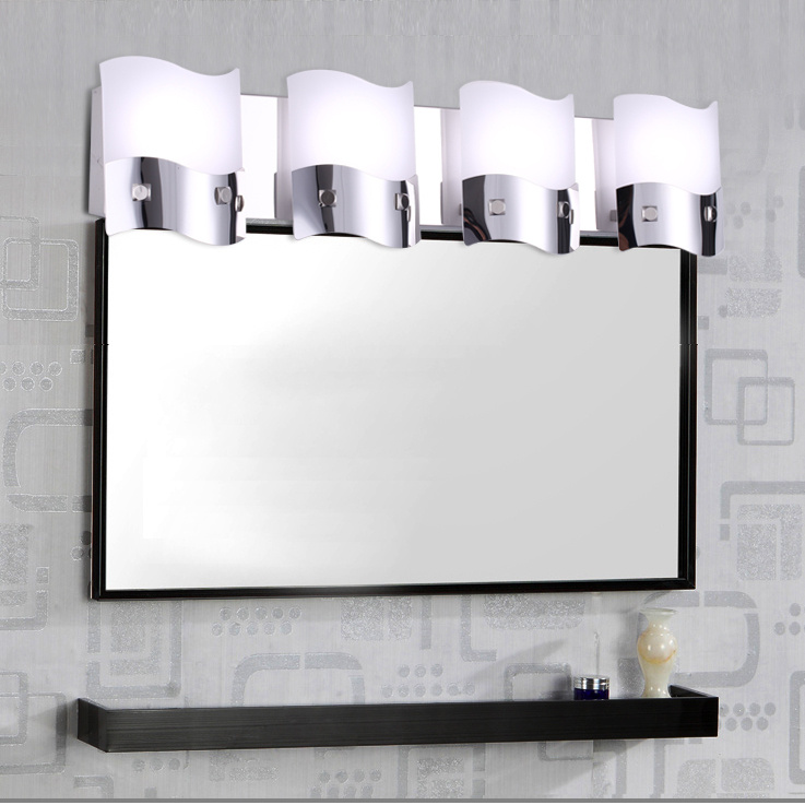 Http Www Aliexpress Com Item Modern Minimalist Led Mirror Lights Wavy Flowing Design Bathroom Lighting Fixtures Bathroom Wall Lamp Makeup 32276334960 Html