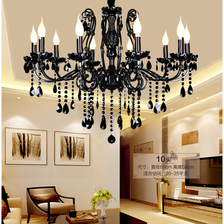 China chandelier light modern ceiling chandeliers led modern black glass chandelier living room - Living room chandeliers ...