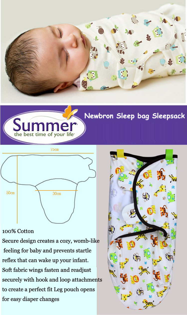 Swaddleme baby swaddle blanket Cotton receiving blankets for babies Thin baby blanket swaddle for summer newborn wrap envelope(China (Mainland))