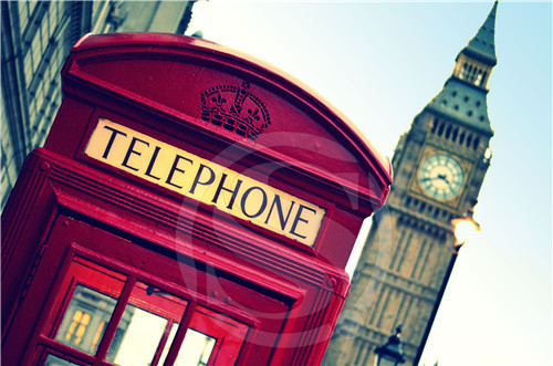 P#131 Custom London England red phone #y Home Decor modern For Bedroom Wall Poster Size 27x40cm Wall Sticker W@131(China (Mainland))