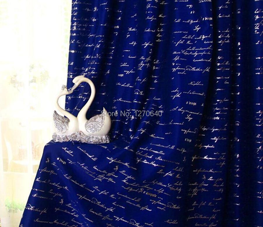 Estilo mediterráneo carta diseño de la ventana cortina azul ...