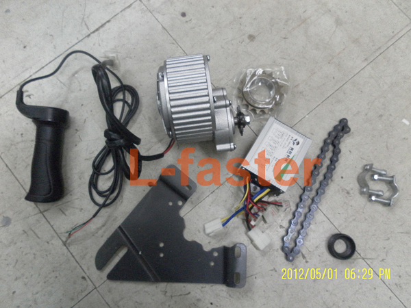 24V 250W ELECTRIC VEHICLE CONVERSION KIT ELECTRIC TRICYCLE BIKE KIT ELECTRIC BICYCLE UNITE MOTOR SIMPLE KIT ( SIDE-MOUNTED )(China (Mainland))