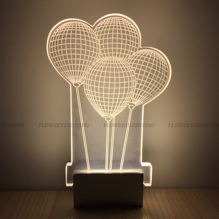 Wall Lamps 3d Model Free : Hot Sale Modern Creative 3D Pattern LED Wall Lamp Sconce Lighting bedside Bedroom Stair lamp ...