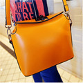 Timed 2016 Handbag For Women Messenger Bags Candy Color One Shoulder Leather Handbags Bag Of Postman