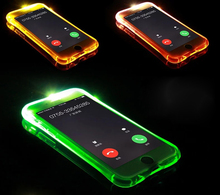 Buy New Soft TPU LED Flash Light Case Remind Incoming Call Cover Samsung Galaxy A3 A5 A7 A8 A9 2016 J5 J7 Note 4 5 S6 S7 Edge for $1.71 in AliExpress store