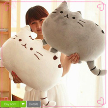 40*30cm Plush Toys Stuffed Animal Doll Toy Pusheen Cat Kawaii Cute Cushion Brinquedos Peluche(China (Mainland))