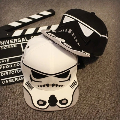 2015 Hot Brand Fitted Hat Gorras Baseball Cap Casual Outdoor Sports Star Wars Snapback Hats Caps Bone Men Women - Soccer jersey world store