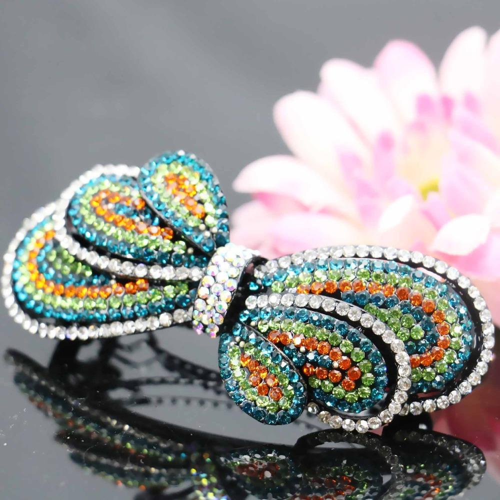 17*73mm Trend Korean style Bow Bowknot Butterfly Bridal Wedding Headdress Head Bands Headband Headpiece Hair Accessory(China (Mainland))