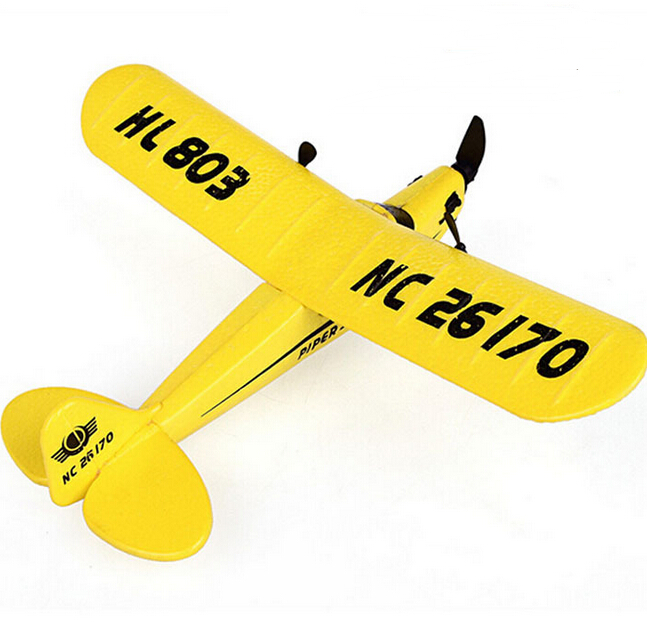 Free shipping HL-803 high quality remote control plane 2CH RC plane 150m Control Distance(China (Mainland))