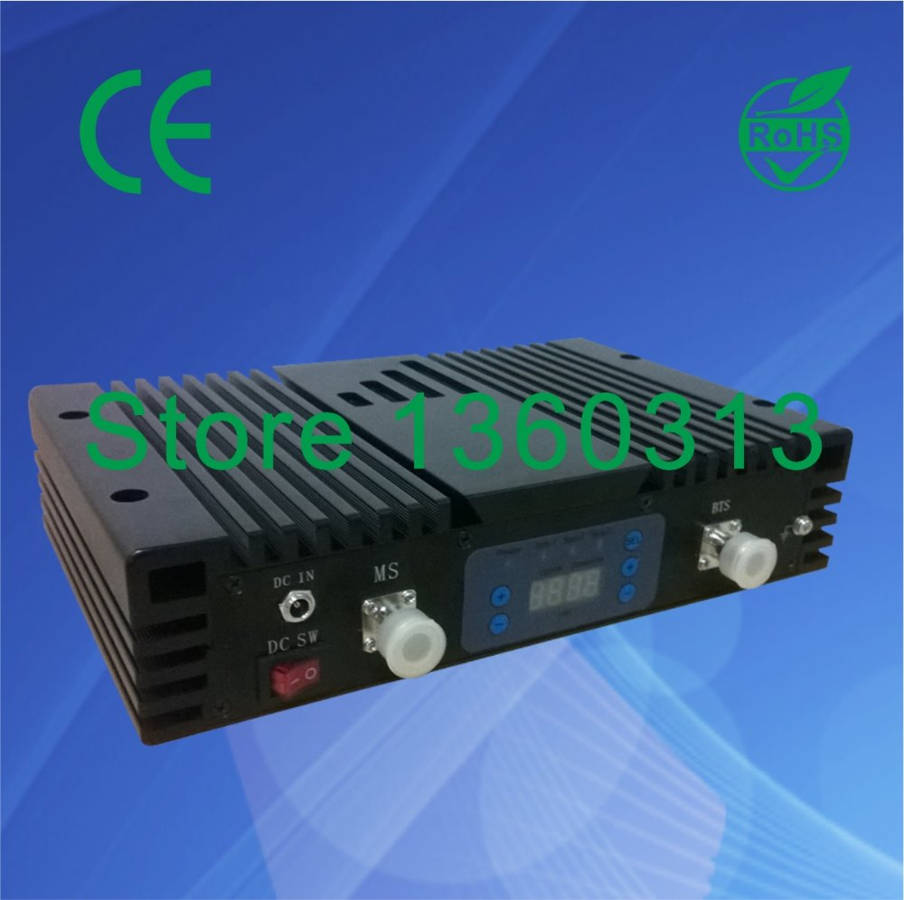 27dbm 80dB FREE SHIP/Digital display/Auto and Manual control gain/dual band repeater/any two systems of CDMA,GSM,DCS,PCS,WCDMA(China (Mainland))