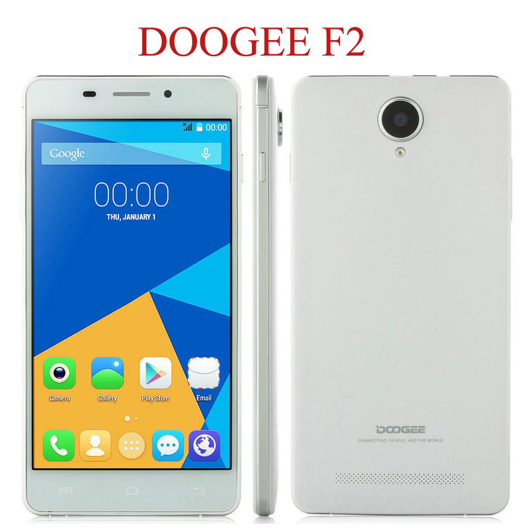 ZK3 Original Doogee F2 IBIZA 5.0inch IPS MTK6732 Quad Core Smartphone Android 4.4 1GB RAM 8GB ROM 13.0MP 4G FDD LTE Mobile Phone(China (Mainland))