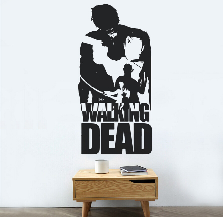 Mural Walking Dead Of Popular Cool Boy Wallpaper Buy Cheap Cool Boy Wallpaper