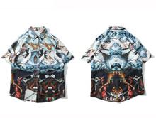 Aelfric Eden картина маслом 3d Модные принты футболка с коротким рукавом Для мужчин 2019 летние шорты с длинными рукавами в стиле хип-хоп Уличная Гав...(China)