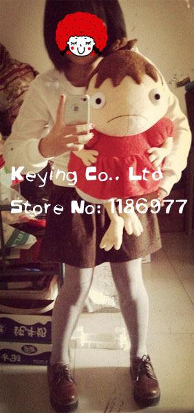 Free shipping Miyazaki Hayao Ponyo on the Cliff 43cm Ponyo half Fish Girl Gift Collection Birthday Gift<br><br>Aliexpress