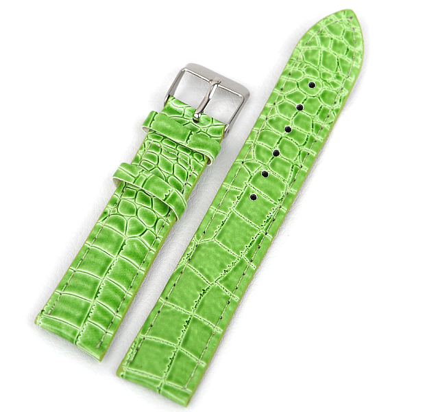 Hot Sale 10pcs/lot PU Leather 18MM watchband long waterproof Straps, sport wrist leather wrist watch band 10 color for choose