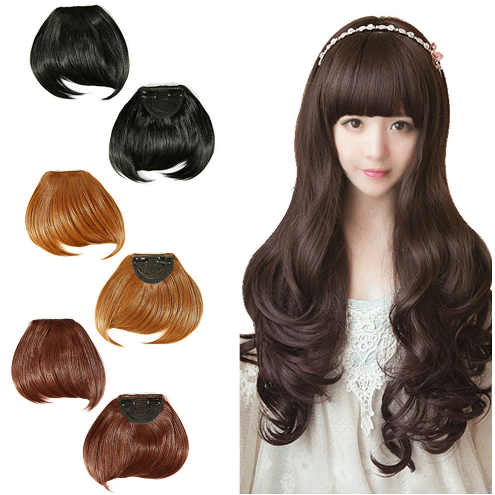Clip In Extensions For Long Bangs 112