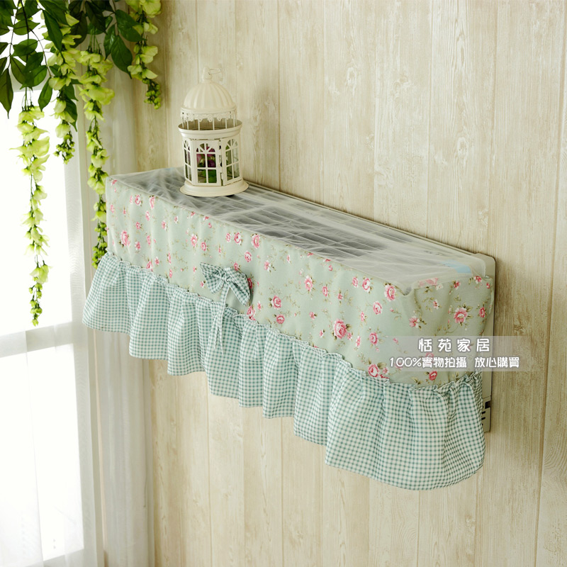 Rustic cloth dust cover air conditioner all-inclusive windshield on-hook air cover(China (Mainland))