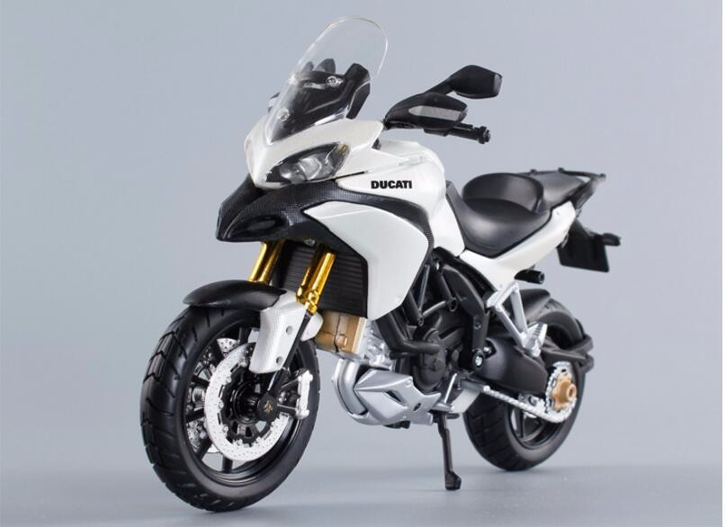 Hotsales 1:12 Scale Ducati 1200s Motorcycle Diecast Models Alloy Motorcycle Racing Model Toys Gift White/Red For Collection