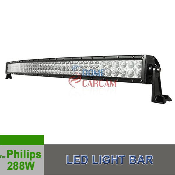 288w 50Inch Led Work Light LED LIGHT BAR FLOOD/SPOT LAMP OFFROAD BOAT UTE CAR TRUCK Racing Car For Philips New Products 2015(China (Mainland))