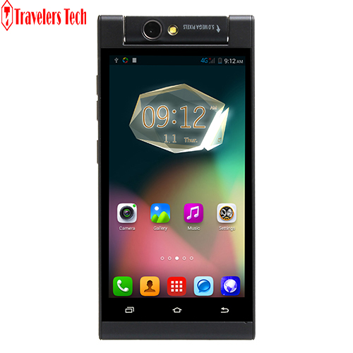 Cheap Android Phone X-BO V11 Rotatable 5MP Camera MTK6572W Dual Core 5.0 Inch Unlocked Smart phone(China (Mainland))