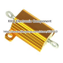 NEW 10W 1RJ 1OHM 1R 1.0R 1R0 5% high power resistors,LED load wirewound resistors,gold aluminum resistance, - KKQ Electronic Component store