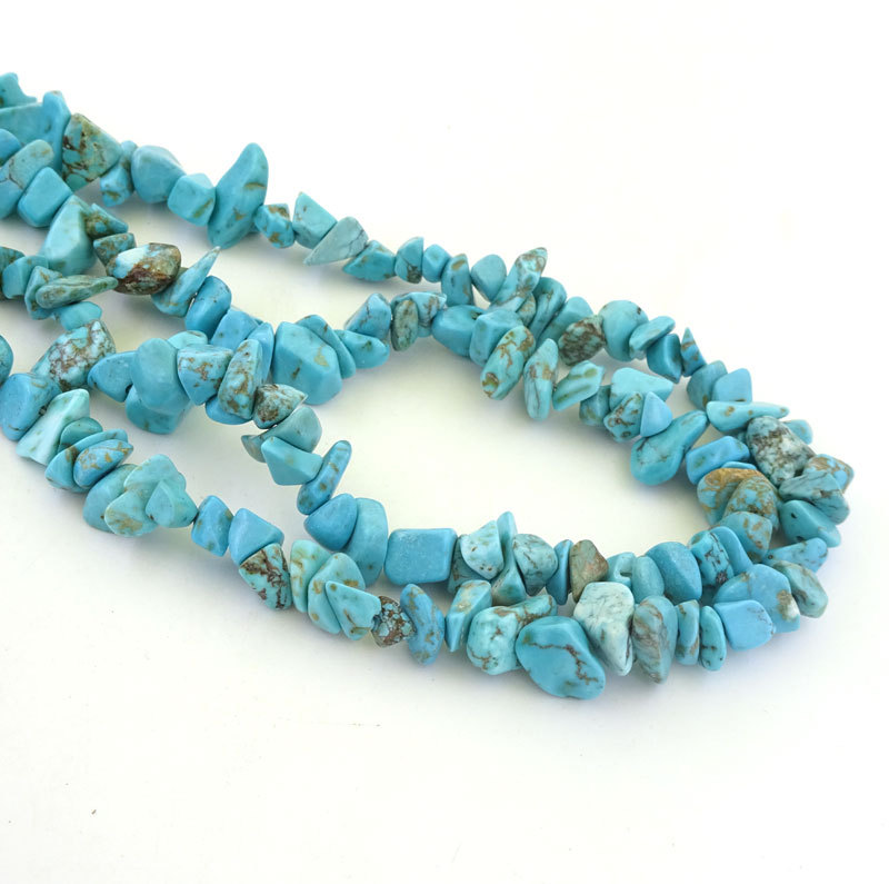 Turquoise Beads 5-10mm Joyeria Turquesa Nueva Kralen Stones Jewelry Making Piedras Preciosas Natural Stone Diy Beads 33inch(China (Mainland))