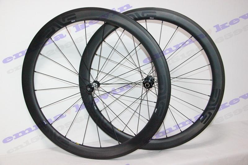 Best selling!black ENVE paint 50MM carbon wheelset 700C full carbon fiber road bike wheels with DT350 hub racing carbon wheel(China (Mainland))